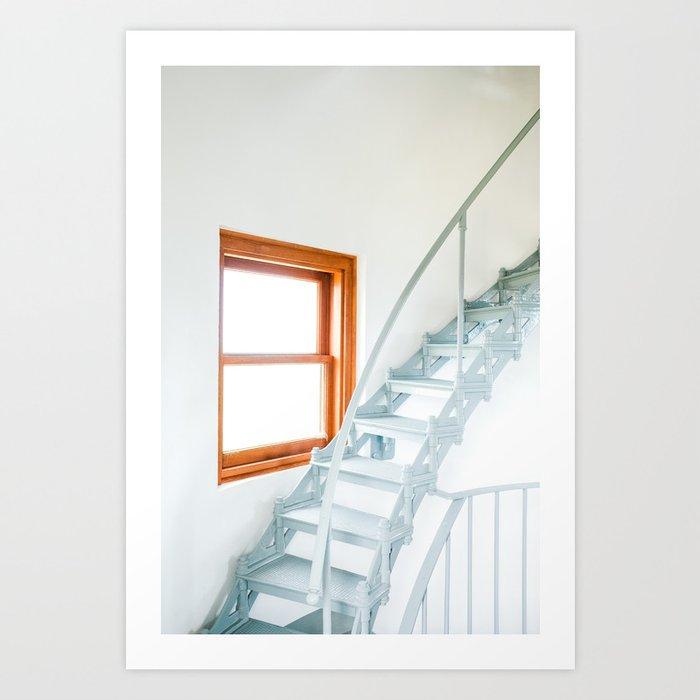 Bright Stairs Art Print