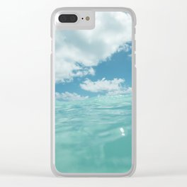 Hawaii Water VII Clear iPhone Case