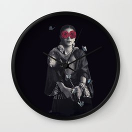 Frida Kahlo my Treasure Wall Clock