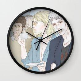 1th Day - Berlin (Hetalia Postcard Serie) Wall Clock