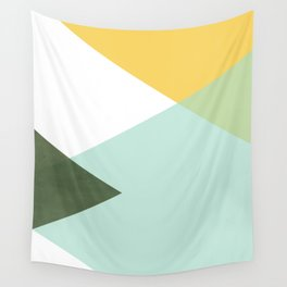 Geometrics - citrus & concrete Wall Tapestry