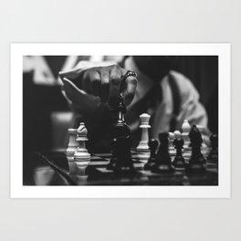The Art of Chessboxing Art Print
