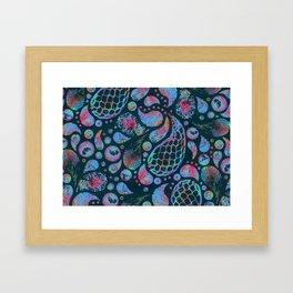 summer tadpoles  Framed Art Print