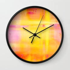 Happy Thoughts no01 Wall Clock