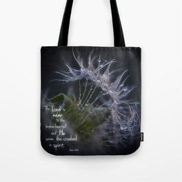 The Lord is Near Tote Bag