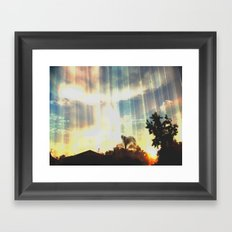 Enter to the Divine Framed Art Print