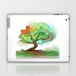 Big watercolor tree Laptop & iPad Skin