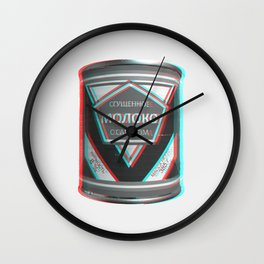 Condensed Milk (Sgushchennoye Moloko)  3D Wall Clock