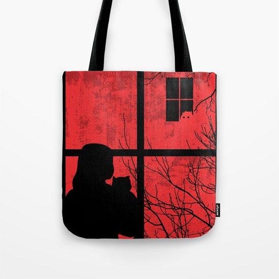 A Strange Encounter Tote Bag