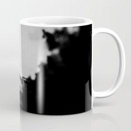 Black & White Chicago L Train photograph Coffee Mug