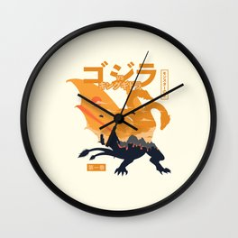 King of Monsters vol.1 Wall Clock