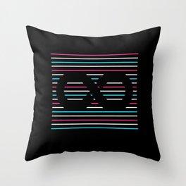Transfinity Throw Pillow