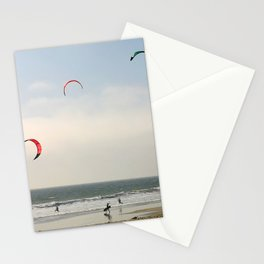 Kite Surfing Stationery Cards