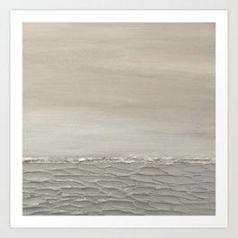 Gray Seas 3 Art Print