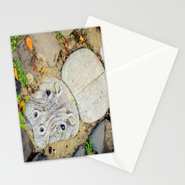 Hippo Camp Stationery Cards