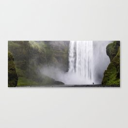 Cleansing my soul. Canvas Print