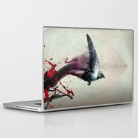 sparrow Laptop & iPad Skins featuring SPARROW by Tales of Beautiful Sadness