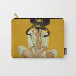 Buggin Out - mustard Carry-All Pouch