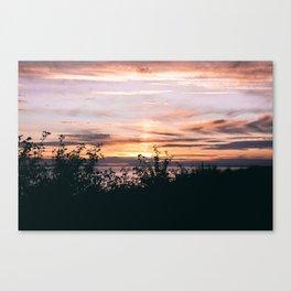 Turnagain Arm Sunset Canvas Print