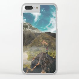 Colombian Paradise Clear iPhone Case