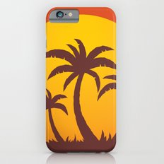 Palm Trees And Summer Sunset iPhone 6s Slim Case
