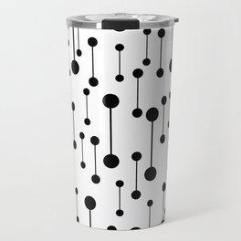 Unity - Minimalistic Black And White Pattern Travel Mug