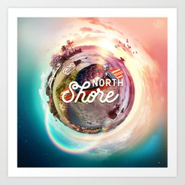 Planet NorthShore Art Print