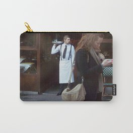 Waiter at the Door, Paris Carry-All Pouch