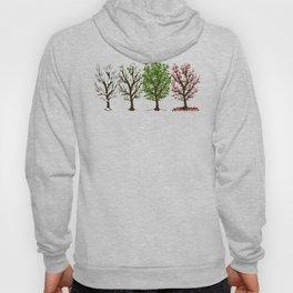 Four Seasons of Trees Hoody