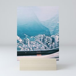 'Sky High' above Chicago Mini Art Print