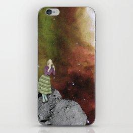 Lady in Space III iPhone Skin