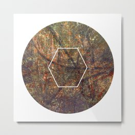 Geometrie #5 Metal Print