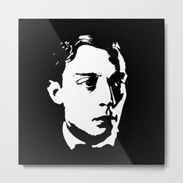 Buster Keaton Is Class Metal Print