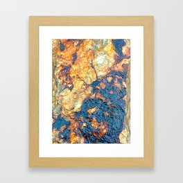 Digital Stone Style Framed Art Print