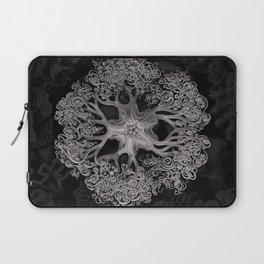 Jellyfish (Black and White) Laptop Sleeve