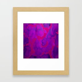 Pink Purple Framed Art Print