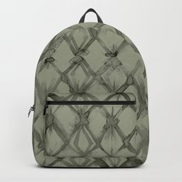 Braided Diamond Simply Green Tea Backpack