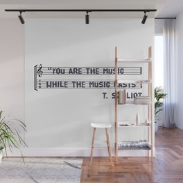 you are the music Wall Mural