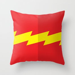 """Belts of Justice: Scientist Series """"The Speedster"""" Throw Pillow"""