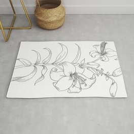 Day Lily Rug