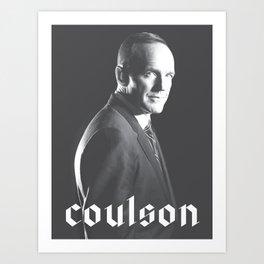 Coulson Art Print