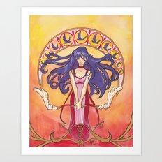 Princess Mars Art Print