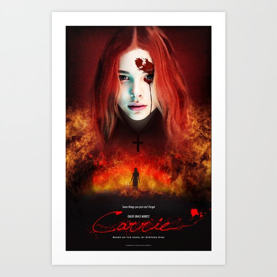Carrie Poster Art Print