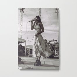 Zella Day Metal Print