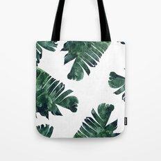 Banana Leaf Watercolor #society6 #buy #decor Tote Bag