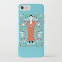mary poppins iPhone & iPod Cases featuring Mary Poppins by Carly Watts