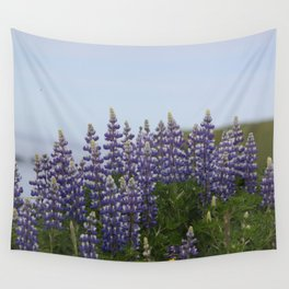 Lupine Flowers Photography Print Wall Tapestry
