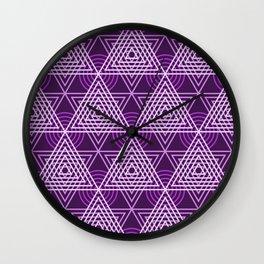 Op Art 74 Wall Clock