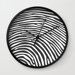 Finger print Wall Clock