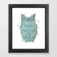 EquOWLateral Framed Art Print
